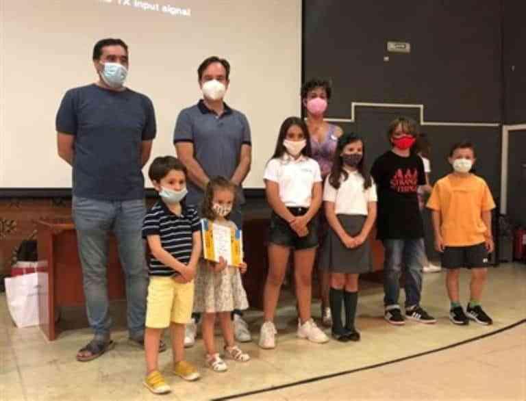 Entrega de los premios del VII Concurso de Dibujo Infantil 'Los colores de Cuenca'