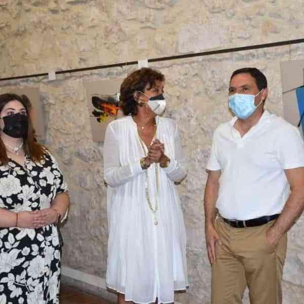 Exposición La Alegría de Pintar de Olga Sinclair en el Centro de Arte Contemporáneo de Cuenca