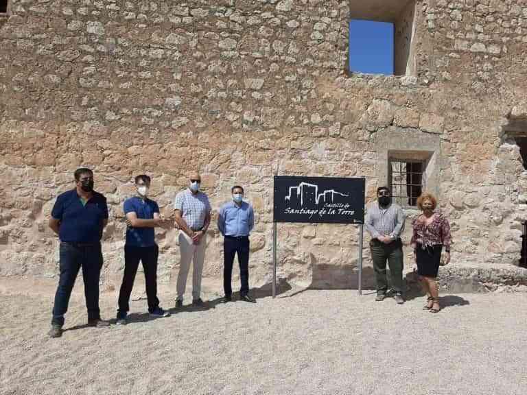 Rehabilitación del castillo de Santiago de la Torre con una inversión de 200.000 euros de la Diputación de Cuenca