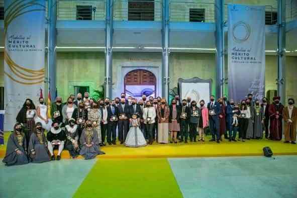 """El Gobierno regional agradece a los premiados en la Gala de la Cultura su trabajo para que ésta sea """"uno de nuestros grandes motores y señas de identidad"""""""